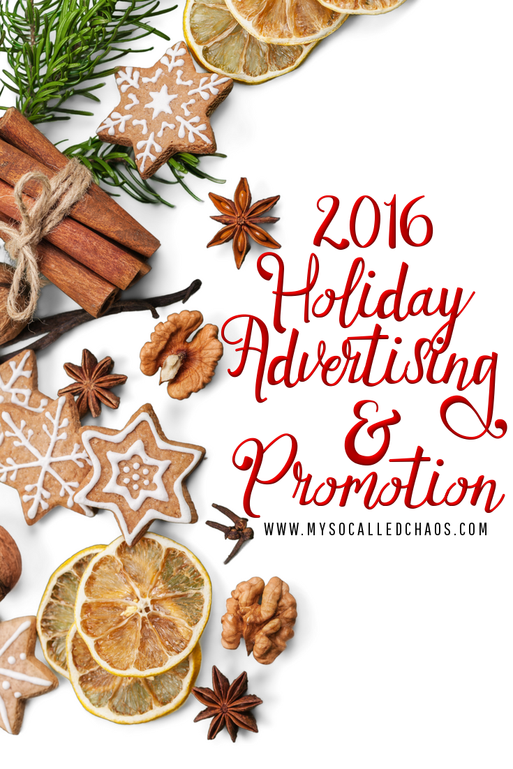 Holiday Advertising & Promotion on My So-Called Chaos
