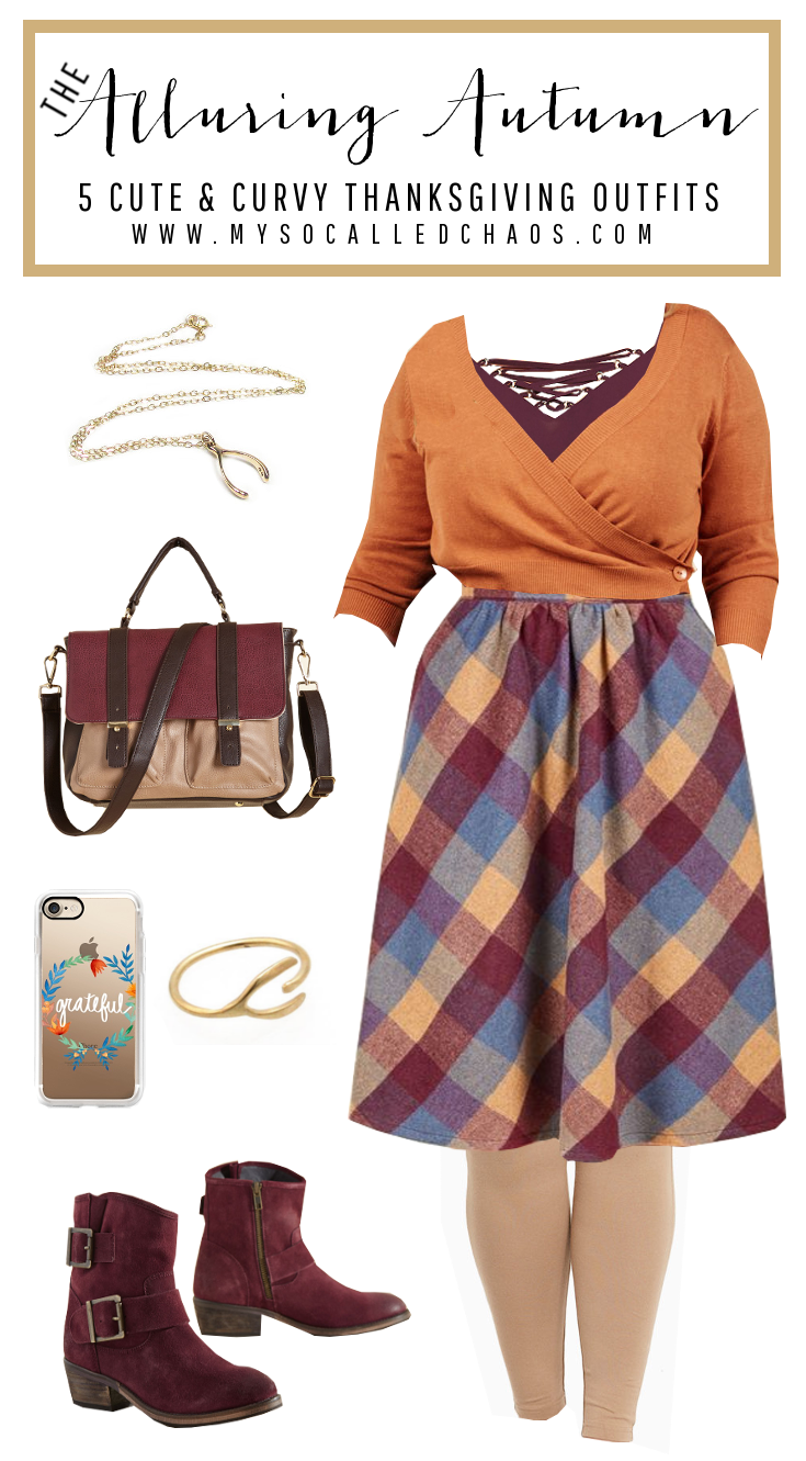 The Alluring Autumn: 5 Cute & Curvy Thanksgiving Outfits - Be Styling at Dinner!