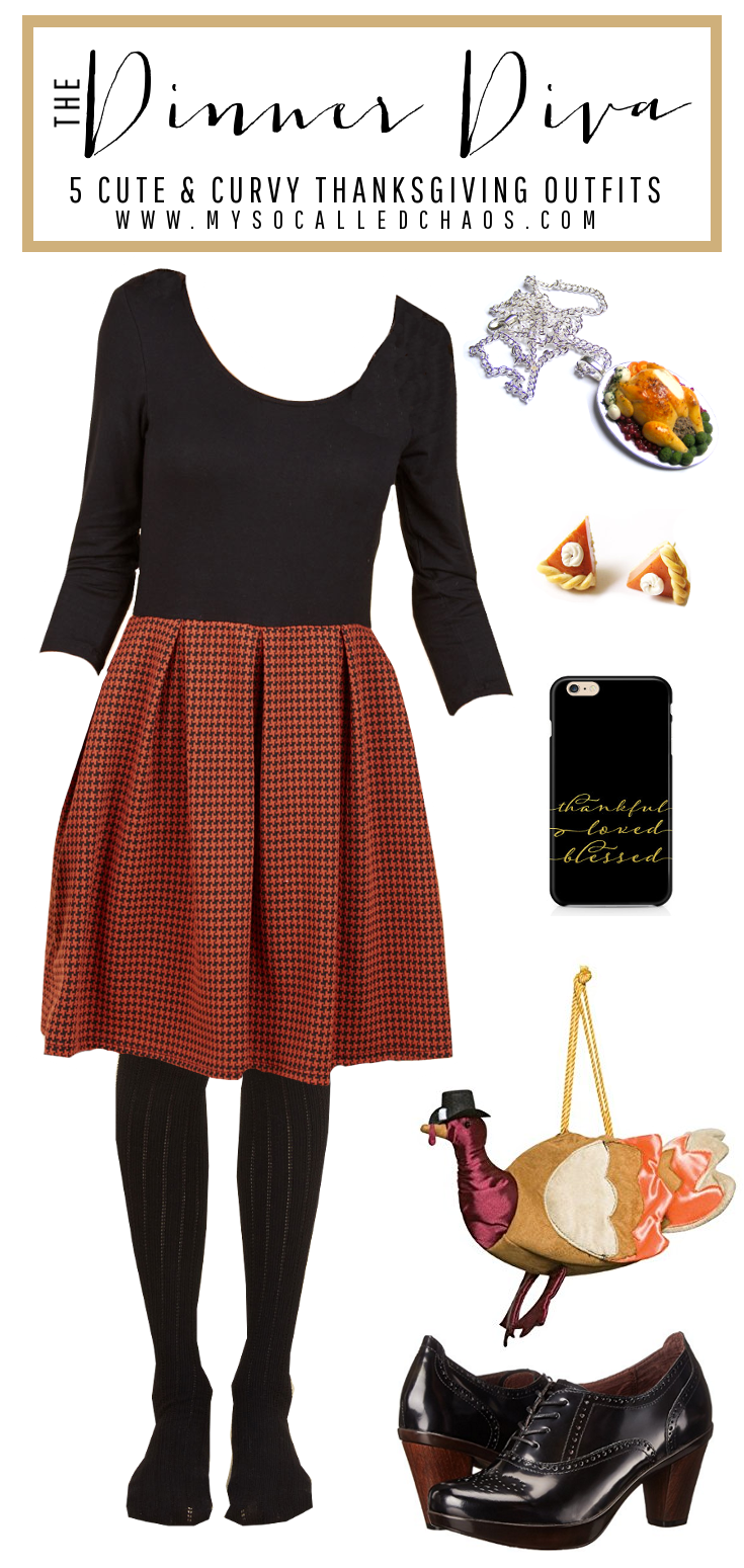 The Dinner Diva: 5 Cute & Curvy Thanksgiving Outfits - Be Styling at Dinner!