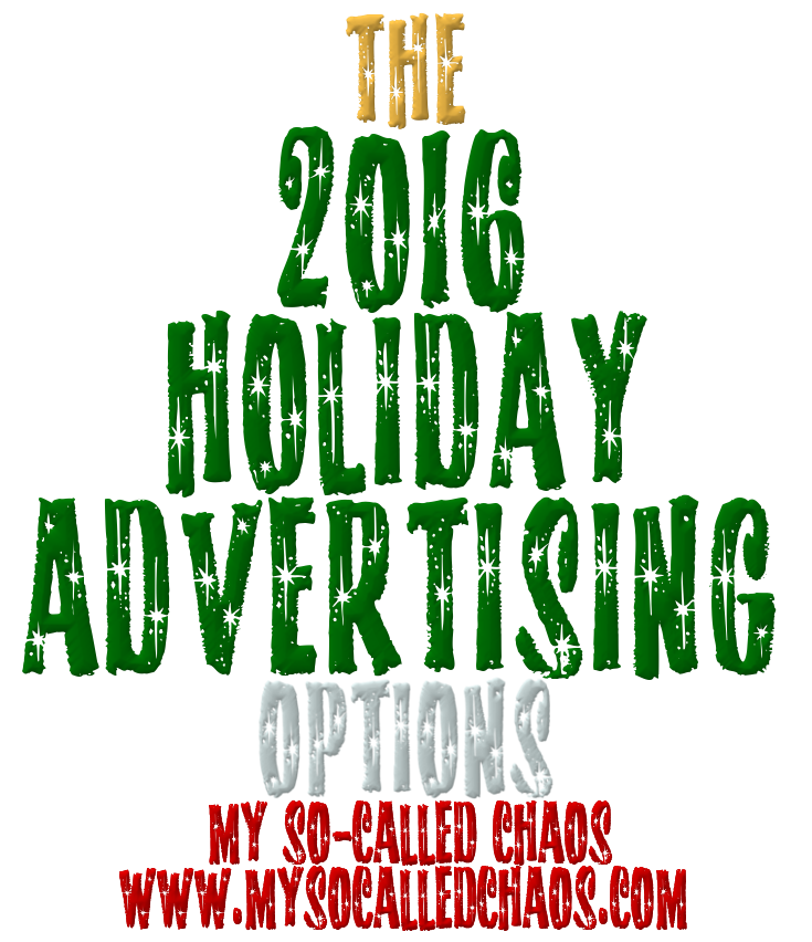 Holiday Advertising Banner Ad Options on My So-Called Chaos