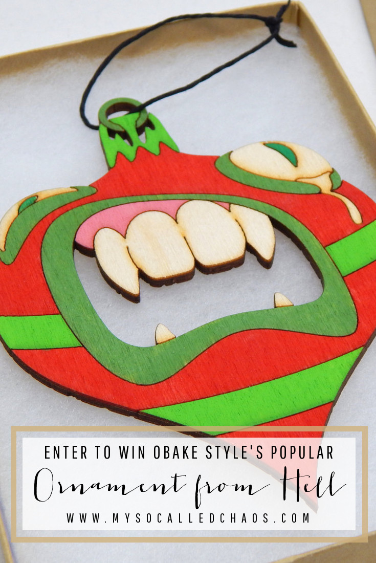 Enter to Win an Ornament from Hell from Obake Style