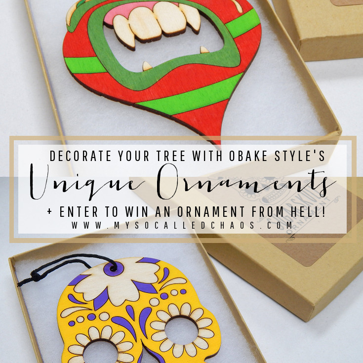 Obake Style: Unique Gifts & Decor + Ornament from Hell Giveaway