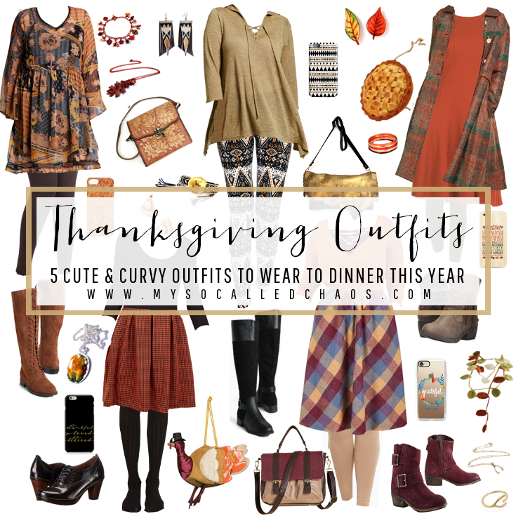 Thanksgiving Outfits: 5 Cute & Curvy Outfits to Wear to Dinner This Year