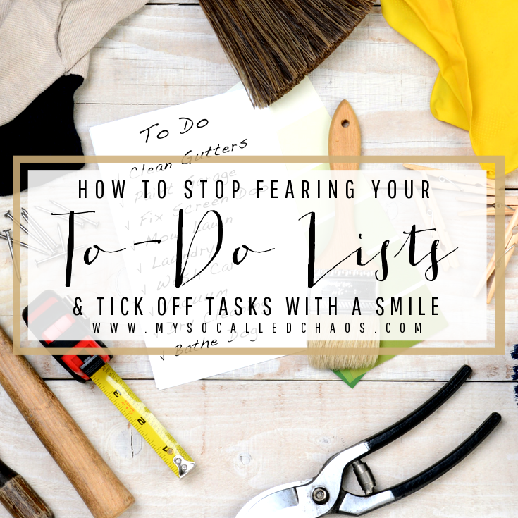 Stop Fearing the To-Do List & Tick Off Tasks with a Smile