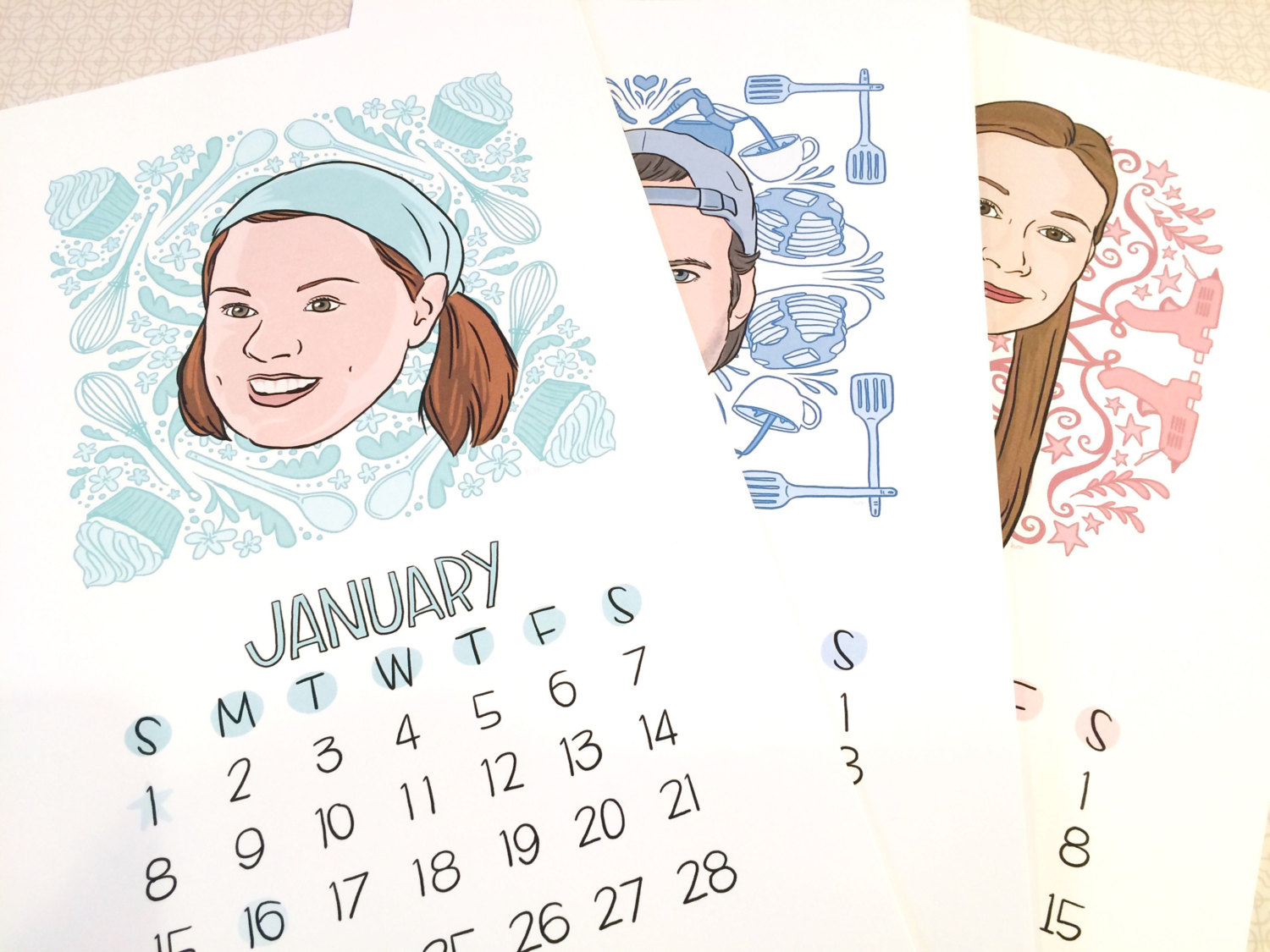 2017 Calendar: Faces of Stars Hollow