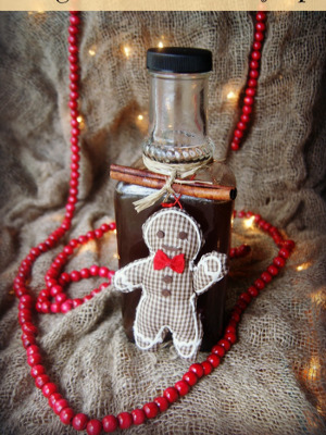 DIY Gingerbread Syrup