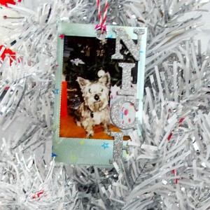 How to Make Instax Mini Ornaments