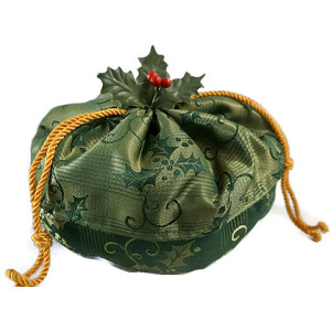 Christmas Holiday Victorian Style Evening Bag from ClassA