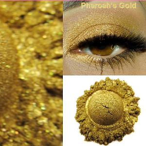 Pharaoh's Gold Twinkle FX Mineral Eye Shadow from MBA Cosmetics