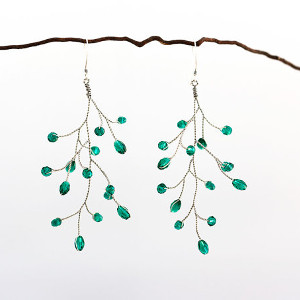 651_Emerald earrings
