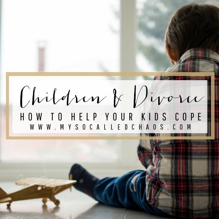 Divorce With Children: How To Help Your Kids Cope