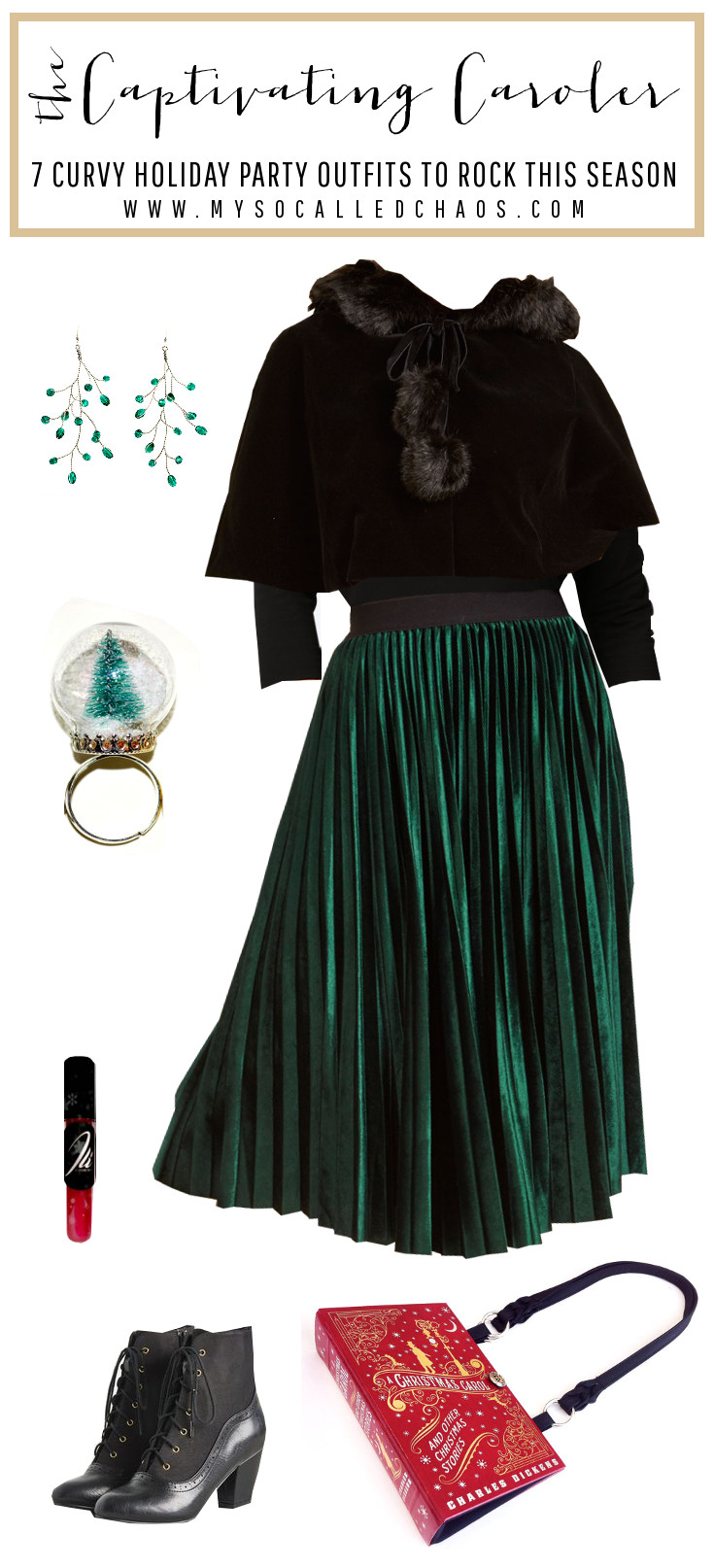 7 Curvy Holiday Party Outfits to Rock This Season: The Captivating Caroler