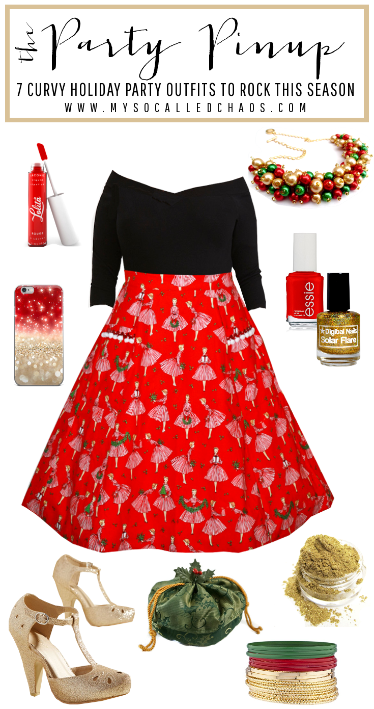 7 Curvy Holiday Party Outfits to Rock This Season: The Party Pinup