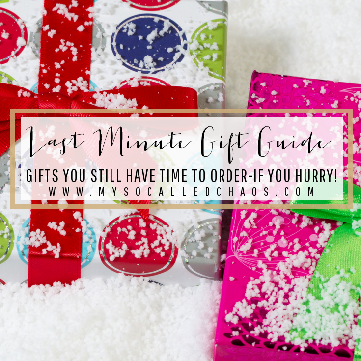 The Ultimate Last Minute Gifts Guide (Gifts You Can Still Order!)