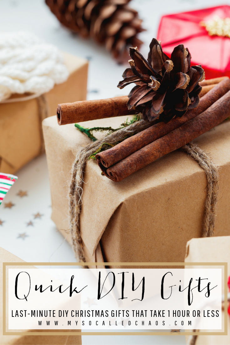 Quick DIY Christmas Gifts - Last Minute DIY Gifts They'll Love!