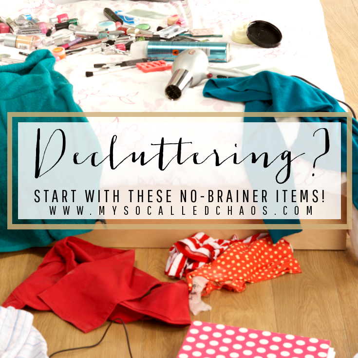 Decluttering? Start with These No-Brainer Items to Get Off to a Good Start