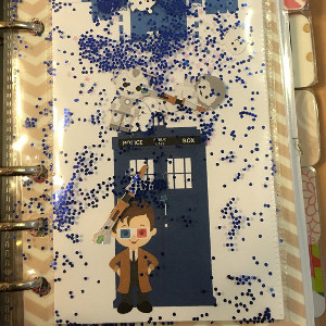 Doctor Who Shaker Dashboard A5 or Personal Planner