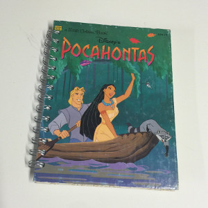 Disney Pocahontas Repurposed Little Golden Book