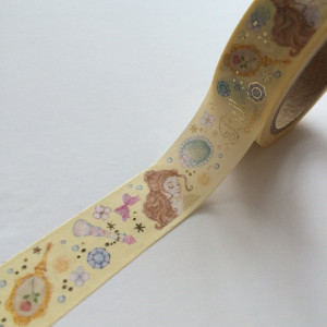 Belle Gold Foil Washi Tape