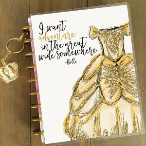 Belle Disney Princess Planner Cover