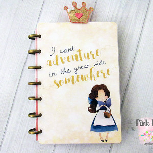 Belle Beauty Planner Cover