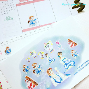 Belle Planner Stickers