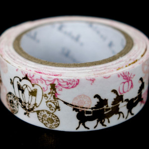 Cinderella Gold Foil Washi Tape
