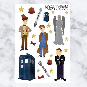 Doctor Who Deco
