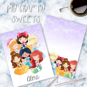 Disney Princesses 1.2 Planner Cover