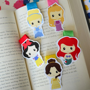 Disney Princess Magnetic Bookmarks