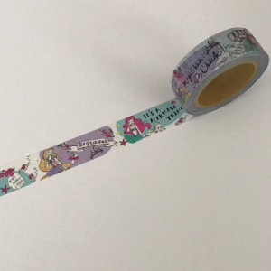 Disney Comical Princesses Washi Tape