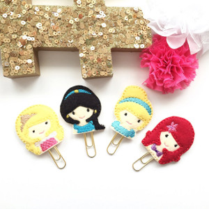 Princess Planner Clips