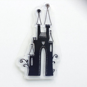 Acrylic Disney Princess Castle Stamp