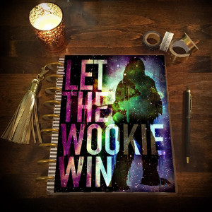 Wookie Laminated Planner Cover