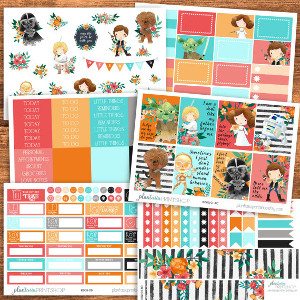Star Wars Planner Sticker Kit