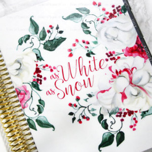 Snow White Planner Cover