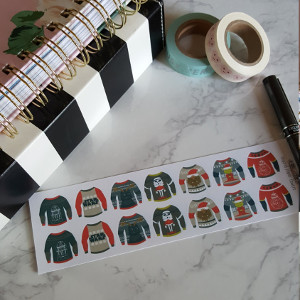 14 Star Wars Ugly Sweater Stickers