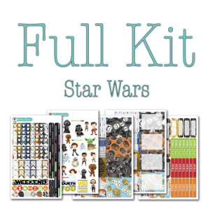 Star Wars Planner Stickers Full Kit