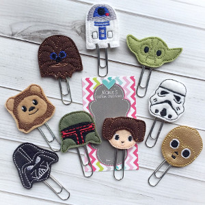 Star Wars Paperclips Set of 9