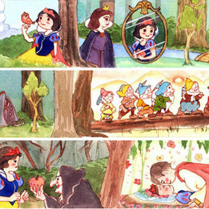 Limited Edition Snow White & the Seven Dwarves Washi Tape