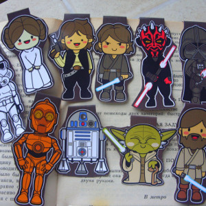 10 Star Wars Magnetic Bookmarks