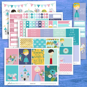 Cinderella Planner Sticker Kit