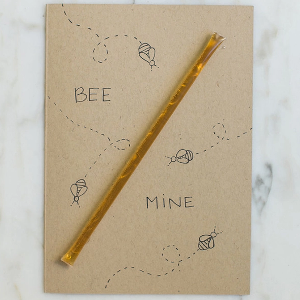 Bee Mine Honey Valentine