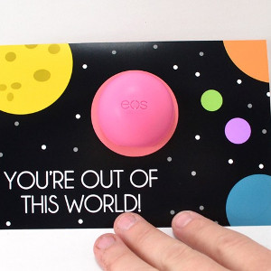 Space Lip Balm Valentines