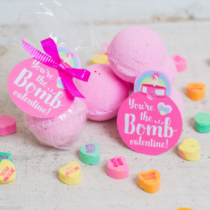 Valentine Bath Bombs