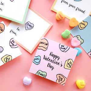Printable Valentine's Day Treat Tags