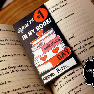 Bookmark Valentine Printable