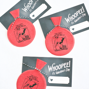 Printable Whoopie Cushion Valentines