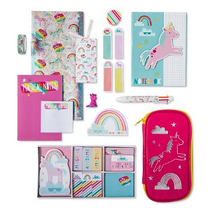 February Favorites: Uniquely Unicorn Mega Stationery Kit from Target