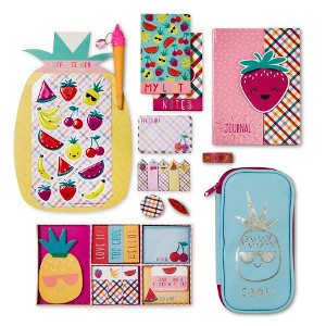 February Favorites: Tuiti Fruity Mega Stationery Kit from Target